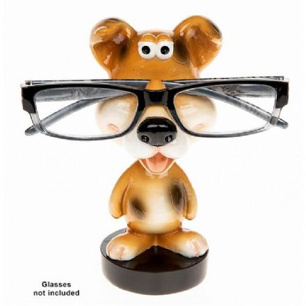 Dog Wobble Head Glasses Holder